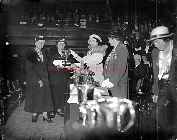 DUCHESS WITH THE BRITISH LEGION WOMEN 3-5-35