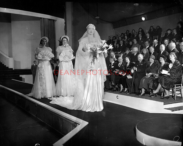 Duchess of York at Opening of BIF 18-2-35
