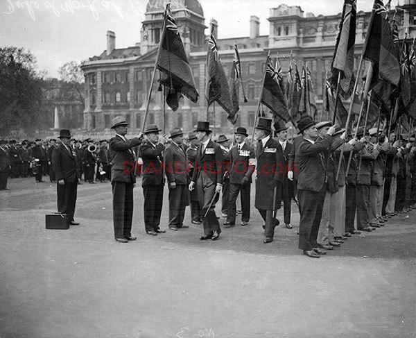 img286 Duke of York at British Legion Service Neg 3-8-negs-taken