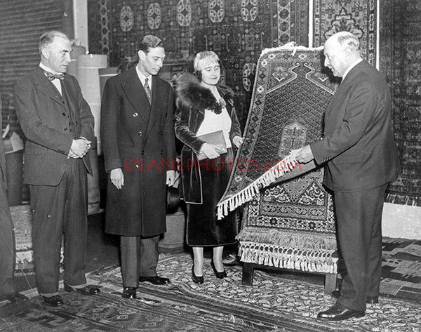 img296 Duke & Duchess of York at Angus Exhibition zoom Feb 1935