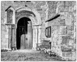 Lockington Church Door Mono