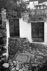Hillside House and Door, Berat