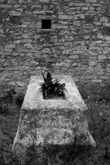 Monastery Grave and Window, Ardenica Monastery