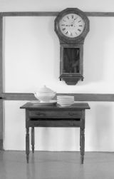 Hall Table with Clock