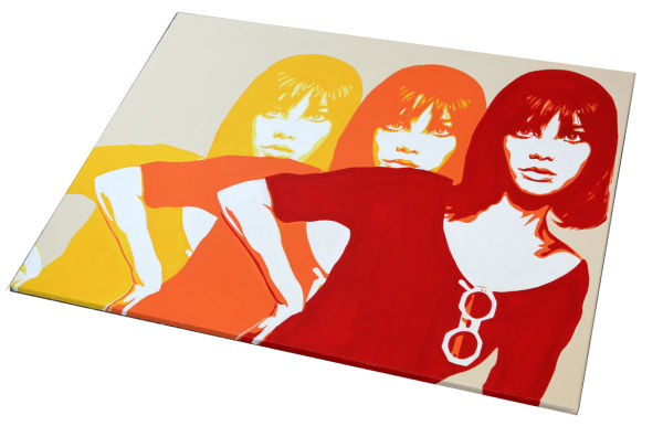 JANE BIRKIN TRIPLE.