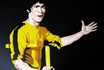 BRUCE LEE - GAME OF DEATH. (NUNCHUKA.)