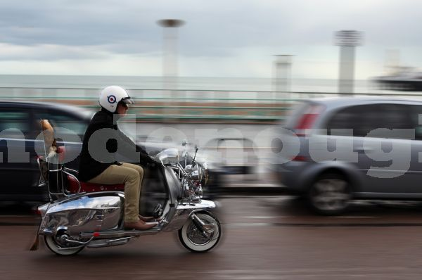 Riding blur