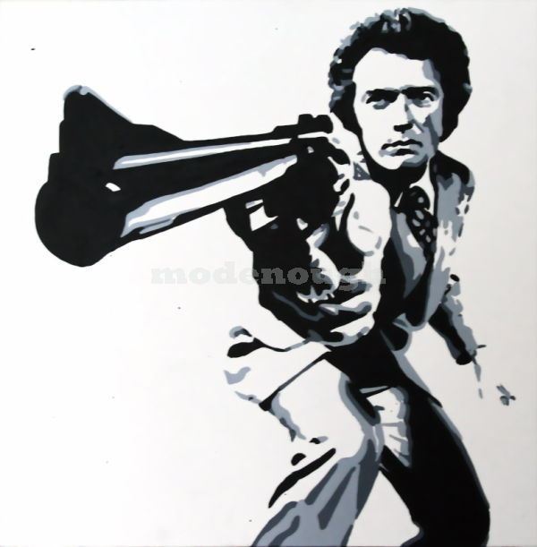 DIRTY HARRY 1 - CLINT EASTWOOD.