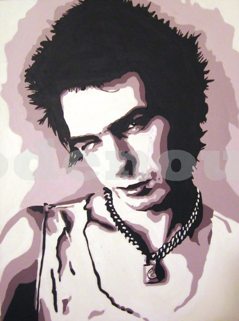 SID VICIOUS - THE SEX PISTOLS.SIZE: 24