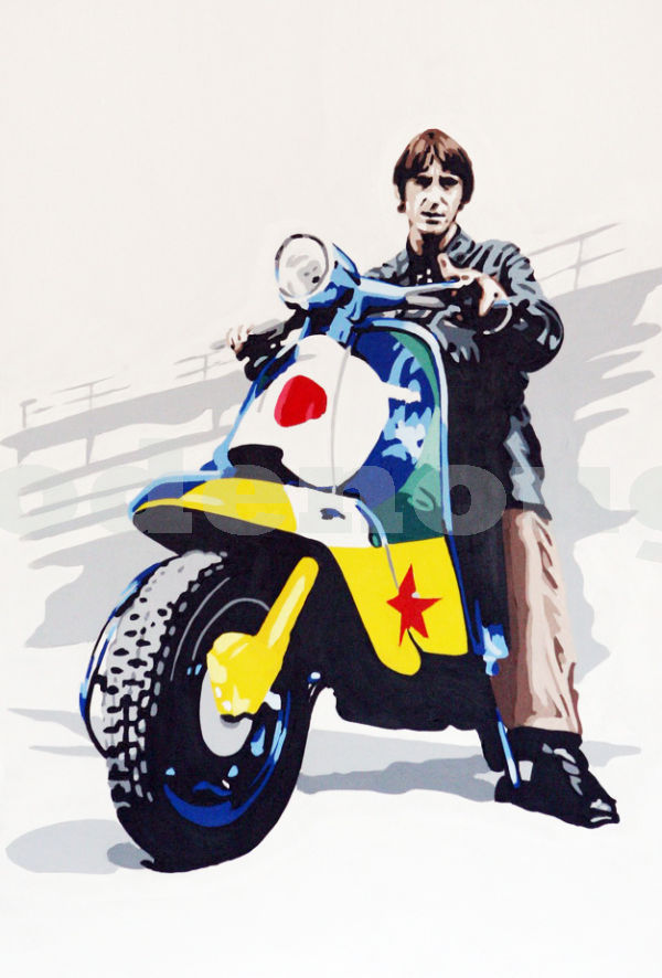 PAUL WELLER - LAMBRETTA.