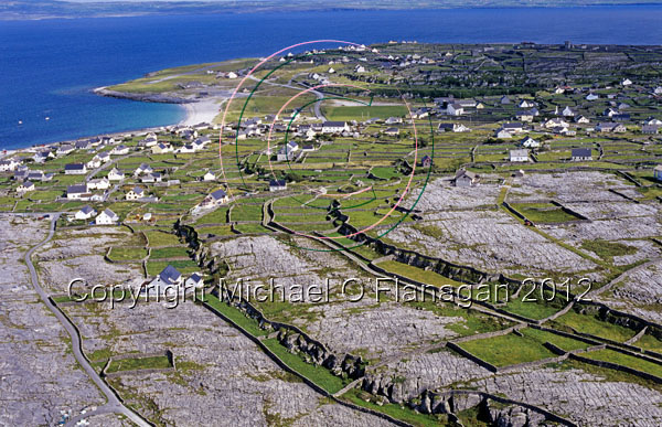 Aerial of Inis Oirr Ref. # FC738.16a