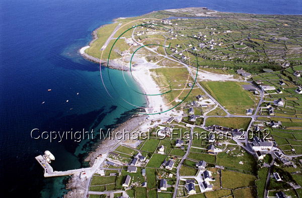 Aerial of Inis Oirr Ref. # FC738.2.8a