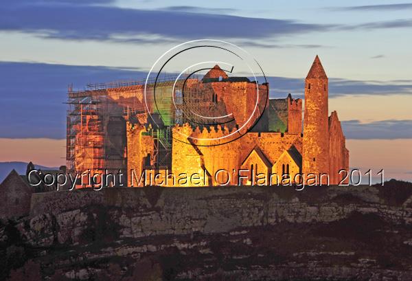 Cashel, Co. Tipperary (Rock of Cashel) Ref. # DSC3686CR