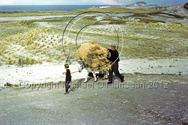 Seán a' Mhuimhneach O'Conghaile & his son John Joe, Inis Oirr, (1975) Ref. # F5E.13