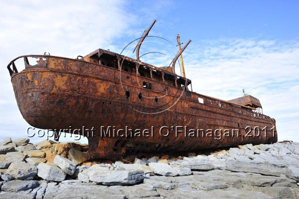The Plassey, Inis Oirr, Aran Islands, Co. Galway Ref. # DSC9911