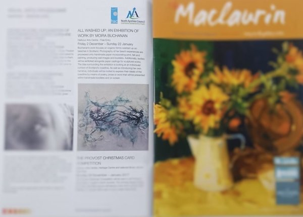 Moira Buchanan Fine Art in The Maclaurin Gallery Magazine Autumn 2016