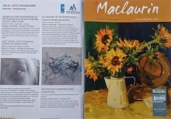 Moira Buchanan featured in Maclaurin Magazine Autumn 2016