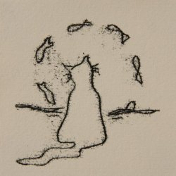 Illustrations in Mono Print