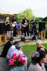 Band at The Barn.