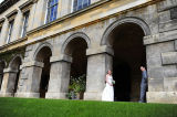 Bride & Groom at Worcester College.