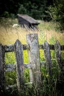 Beamish Waggon way fence
