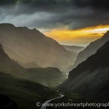 Storm Approaching,  Llanberis Pass, Snowdonia,  Wales, UK