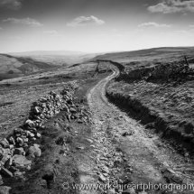Cam Gill Road monochrome, Kettlewell, Yorkshire Dales, UK