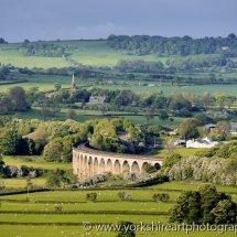 Arthington Viaduct, Wharfdale, Yorkshire, UK