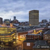 City Skyline, Manchester, UK