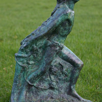 Emergence bronze maquette