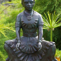 Indian dancer bronze