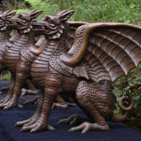 Three-dragons-bronze