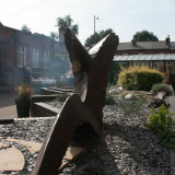 GHS steel sculpture