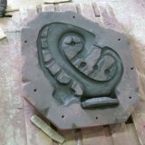 Sand mould for cast iron