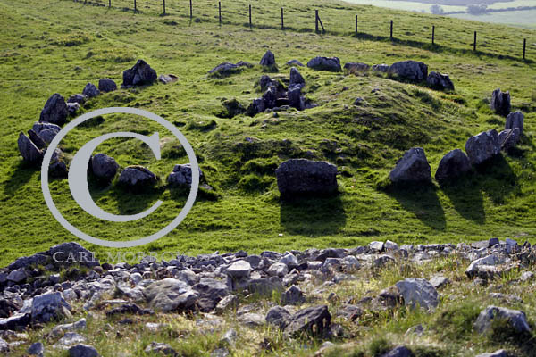 Stone Circle and Grave, Loughcrew, County Meath, Ireland