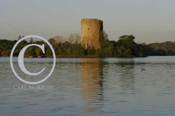 Lough Oughter Castle, County Cavan, Ireland.