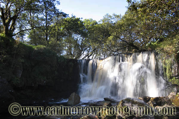 Tullydermot Waterfall, County Cavan, Ireland.