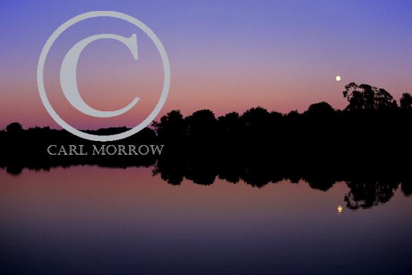 Twilight on Derryhoo Lake, County Cavan, Ireland