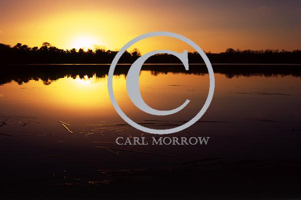 Sunset on Arden Lake, County Cavan, Ireland
