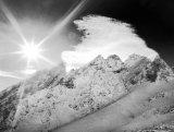 105-Sunburst over the Pinnacles