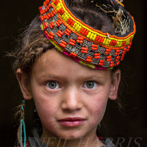 Young Kalash girl