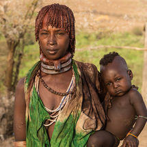 Karo - Mother and baby