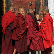 Bhutan - Novice bullies