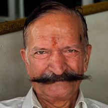 Mega moustache