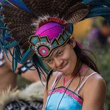 Aztec drummer