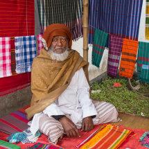 Cloth salesman