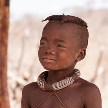 Himba - Young girl