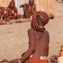 Himba - Typical haircut