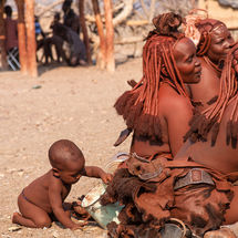 Himba - Free range baby