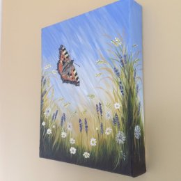 Summers Dream I Original Acrylic Painting on canvas